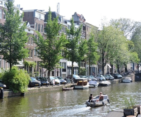 Amsterdam canal Prinsengracht