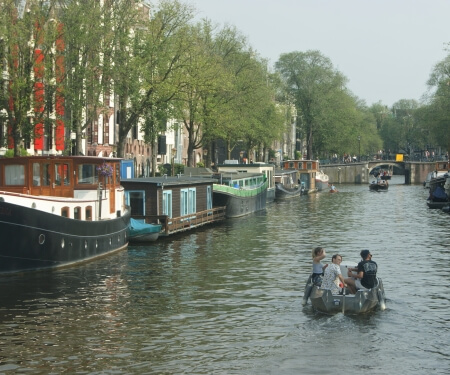 Boat hire Amsterdam South Boaty