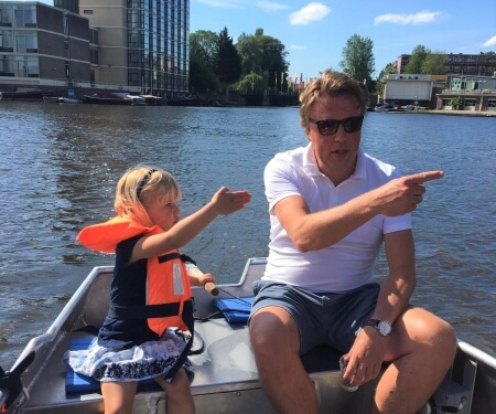 Amsterdam boat rental canal routes