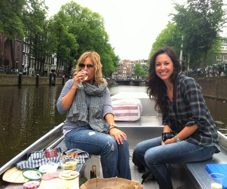 Electric boat rental Amsterdam