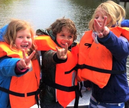 Life jacket kids Amsterdam boat rental