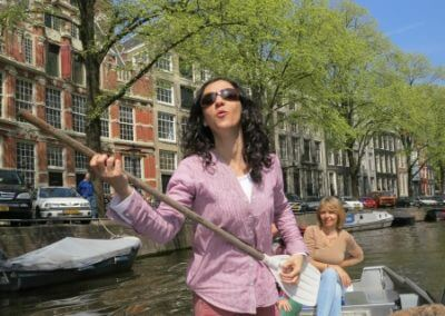 Live music on the Amsterdam canals