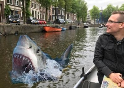 Shark alarm Amsterdam Jaws