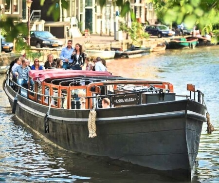 Rent a Boat Amsterdam private canal tour