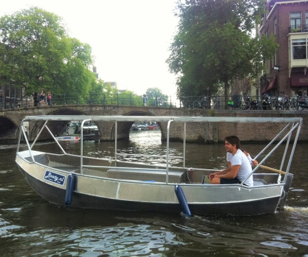 Canal boat cover for hire Amster