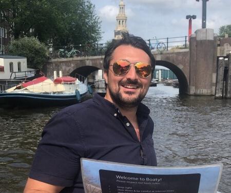 Navigating Amsterdam canals