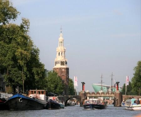 Oudeschans Montelbaanstoren Nemo Amsterdam