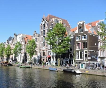 Prinsengracht Amsterdam canal World Heritage Area