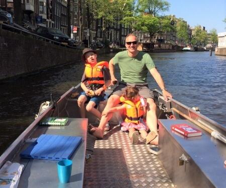 Self-drive boat hire Amsterdam