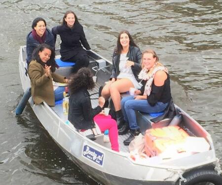 Small boat rental Amsterdam