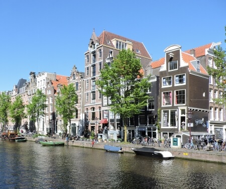 Prinsengracht Amsterdam canal World Heritage Area