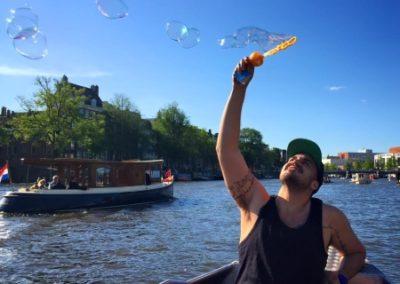 Amsterdam river boat tour