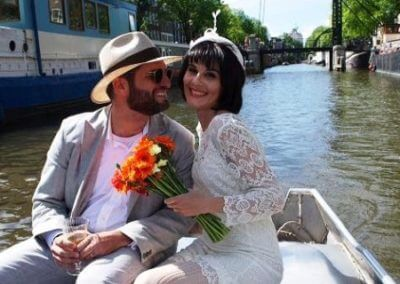 Wedding Boat Tour Amsterdam