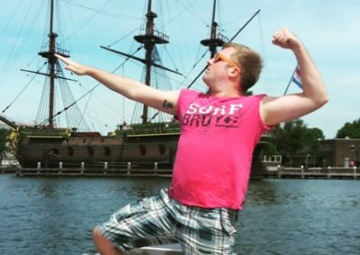Win free boat tour Amsterdam