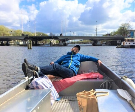 Quarantaine Boat Tour Amsterdam