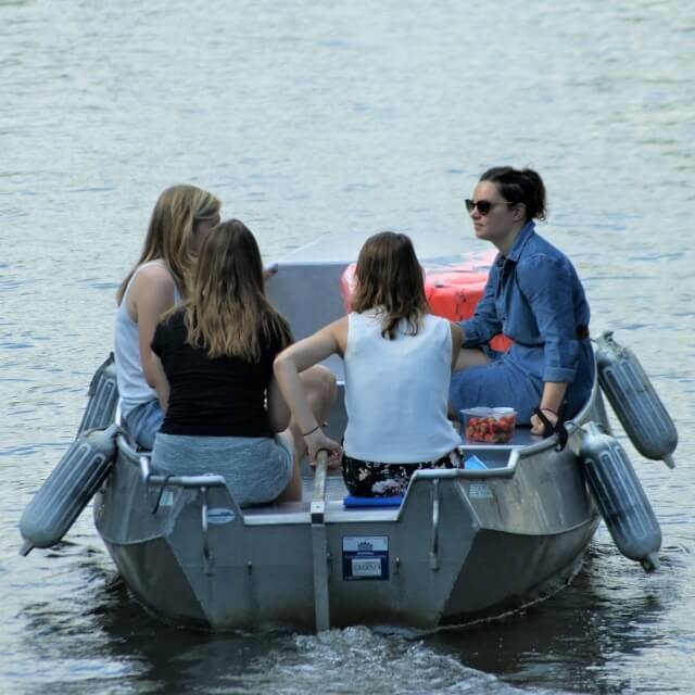 Amsterdam boat rent canals