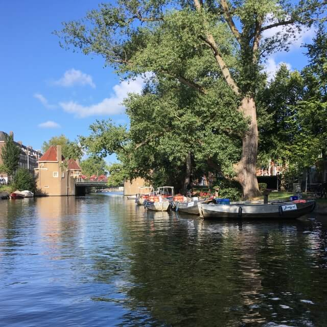 Amsterdam renting a boat