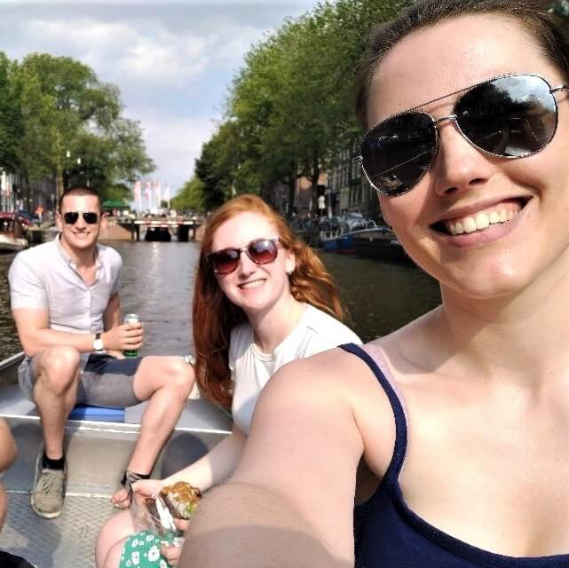 Rent boat Amsterdam canals